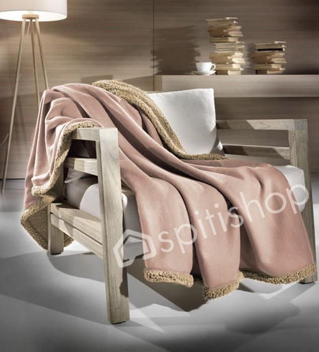 Κουβέρτα Καναπέ Nima Merino 05 33184