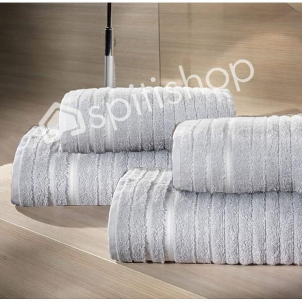 Πετσέτες Μπάνιου (Σετ 2τμχ) Nima Le Bain Lois Bosporus Grey