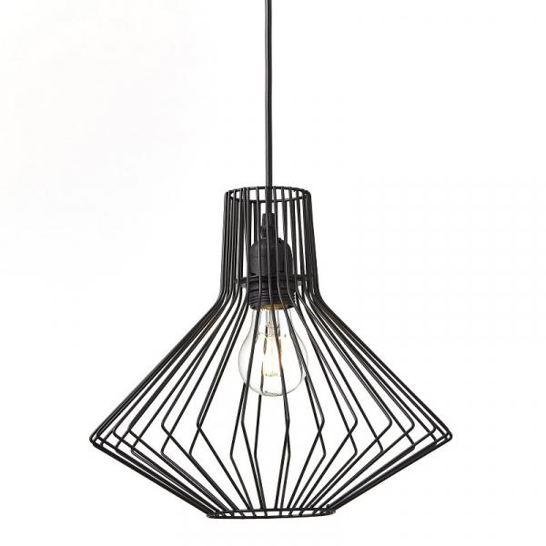 Φωτιστικό Οροφής Μονόφωτο Brilliant Dalma 93478/06 Black