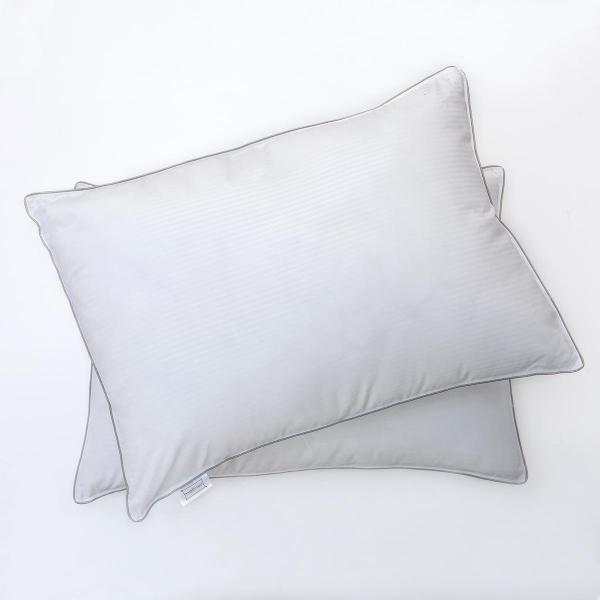 Ζεύγος Μαξιλάρια Ύπνου Melinen Satin Stripe 3D