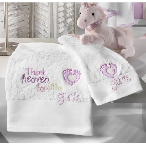 Βρεφικές Πετσέτες (Σετ 2τμχ) Nima Once Upon A Time Girl Sleeping