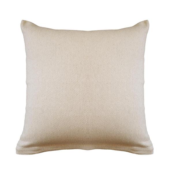 Διακοσμητική Μαξιλαροθήκη (40x40) Ravelia Pure Cream