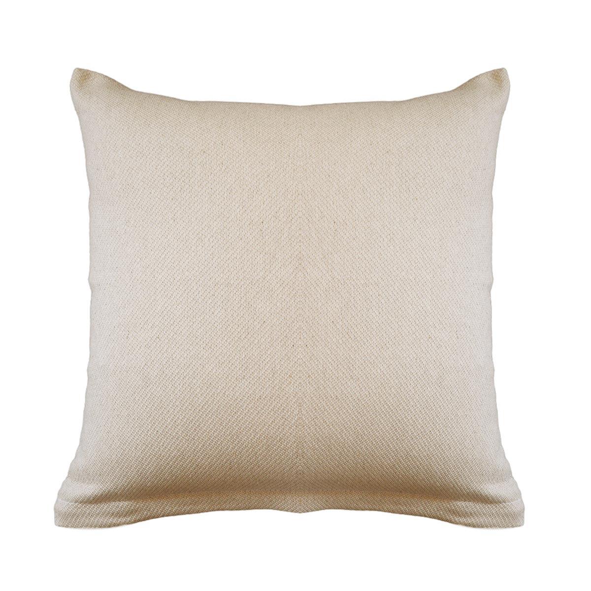 Διακοσμητική Μαξιλαροθήκη (40×40) Ravelia Pure Cream