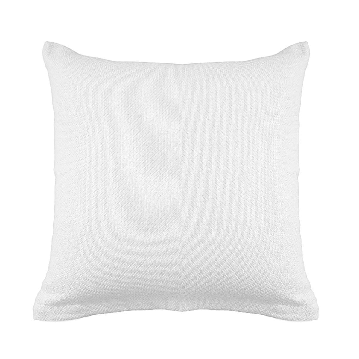 Διακοσμητική Μαξιλαροθήκη (40×40) Ravelia Pure White
