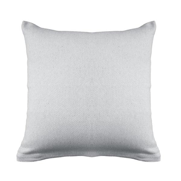 Διακοσμητική Μαξιλαροθήκη (40x40) Ravelia Pure L.Grey