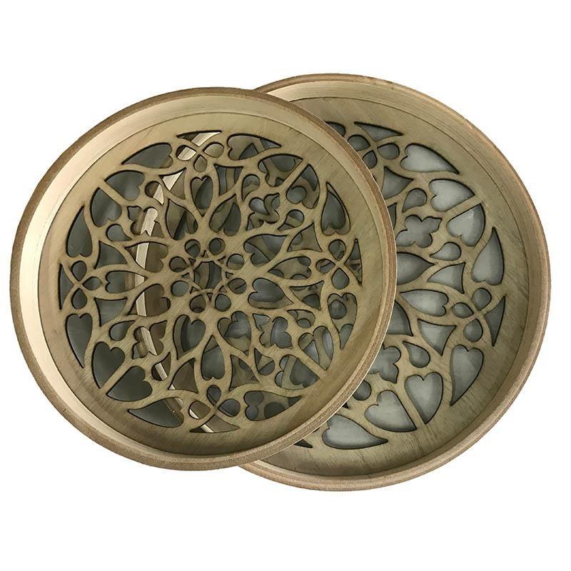 Δίσκοι Διακόσμησης (Σετ 2τμχ) InArt 3-70-151-0263