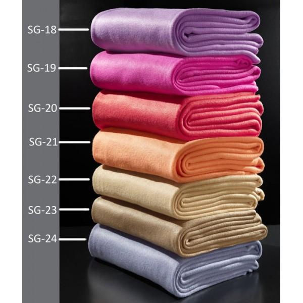 Κουβέρτα Fleece Υπέρδιπλη Nima Solid Glow