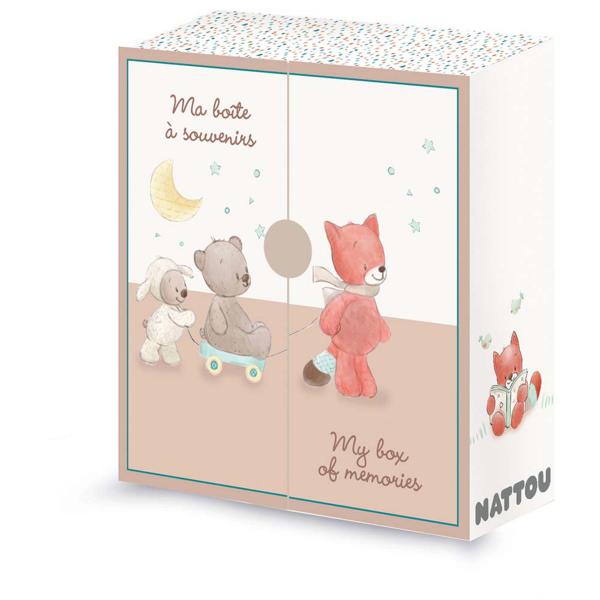 Κουτί Πρώτων Αναμνήσεων Nattou Mia & Basil