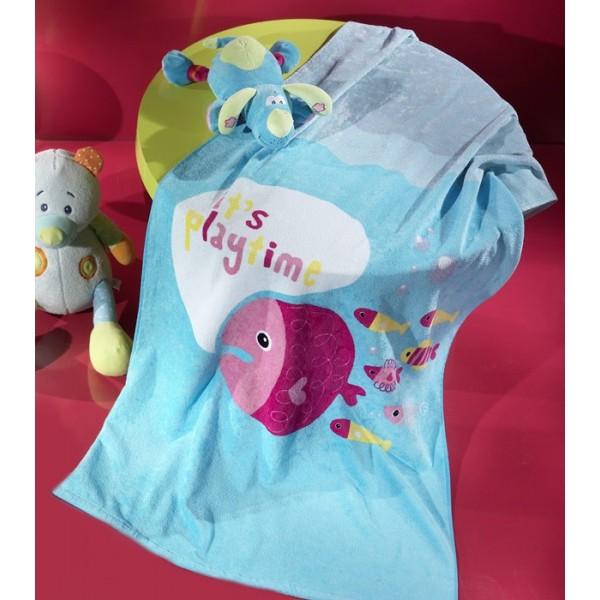 Παιδική Πετσέτα Θαλάσσης Nima Whoop Little Playtime 02