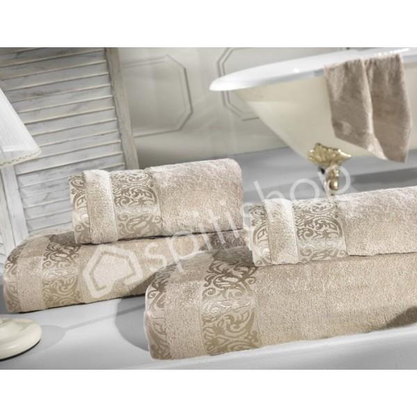 Πετσέτες Μπάνιου (Σετ 2τμχ) Nima Le Bain Lois Beige