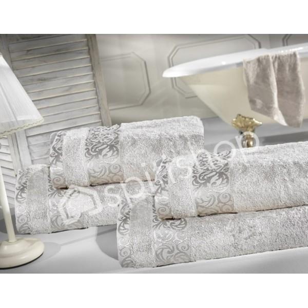 Πετσέτες Μπάνιου (Σετ 2τμχ) Nima Le Bain Lois Grey