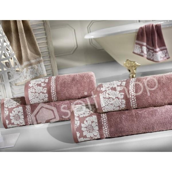 Πετσέτες Μπάνιου (Σετ 2τμχ) Nima Le Bain Lois Emily Pink