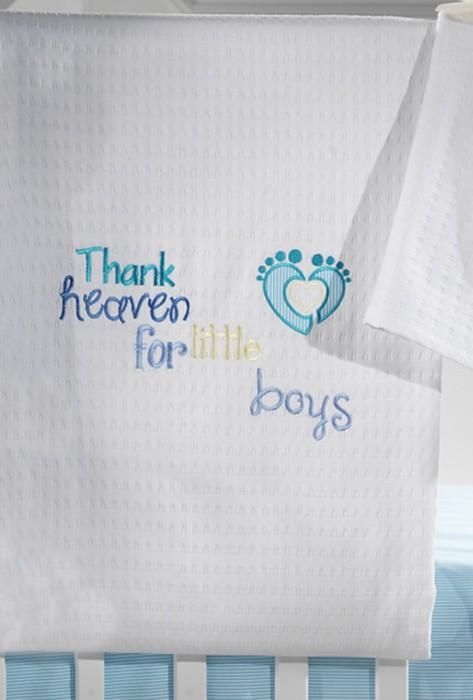 Κουβέρτα Πικέ Κούνιας Nima Once Upon A Time Little Boy home   βρεφικά   κουβέρτες βρεφικές   κουβέρτες καλοκαιρινές
