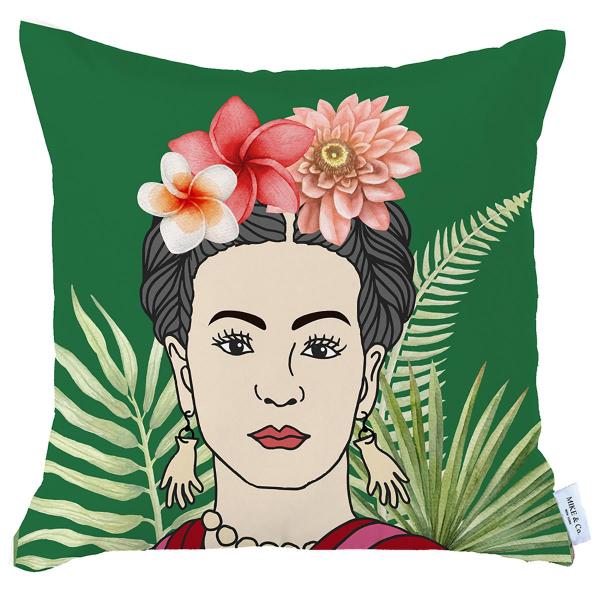 Διακοσμητική Μαξιλαροθήκη (45x45) Mike & Co Frida 712-4219-1