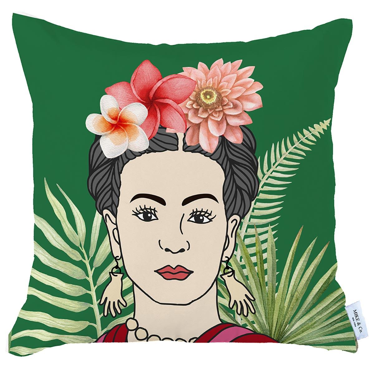 Διακοσμητική Μαξιλαροθήκη (45×45) Mike & Co Frida 712-4219-1