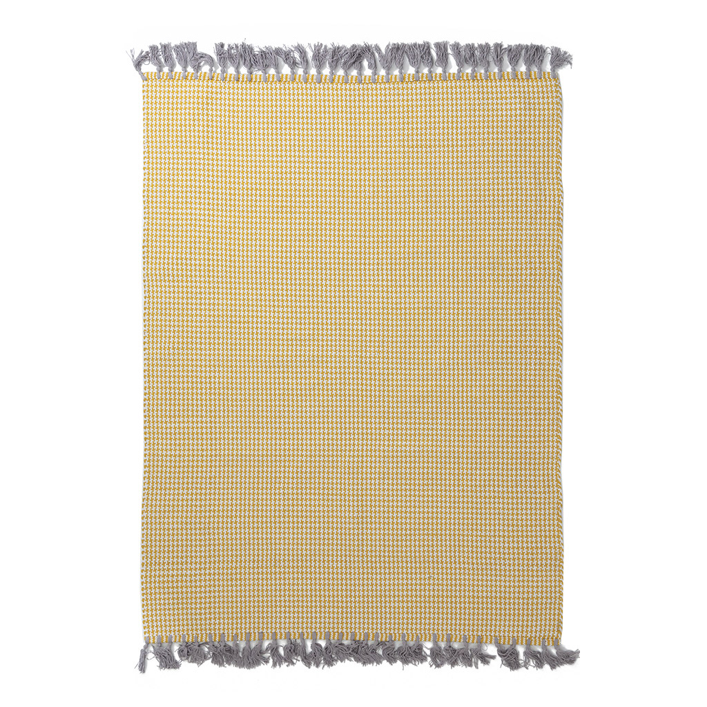 Χαλί All Season (160×230) Royal Carpets Kilim Houndstooth Yellow