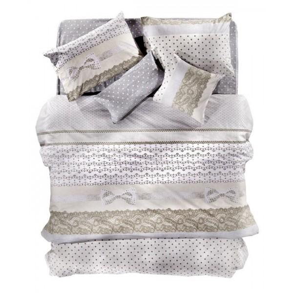 Παπλωματοθήκη Υπέρδιπλη (Σετ) Nima Cotton&Style Belle Epoque 01