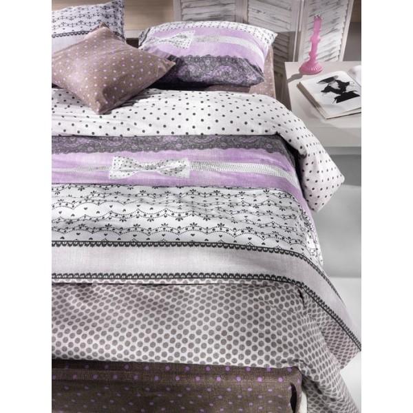 Παπλωματοθήκη Υπέρδιπλη (Σετ) Nima Cotton&Style Belle Epoque 02