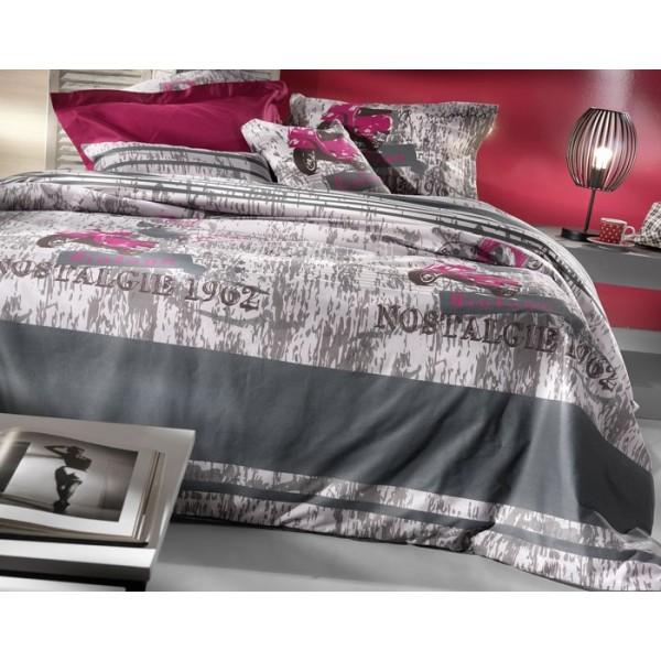 Κουβερλί Υπέρδιπλο Nima Cotton 'N Style Carte Postale 02