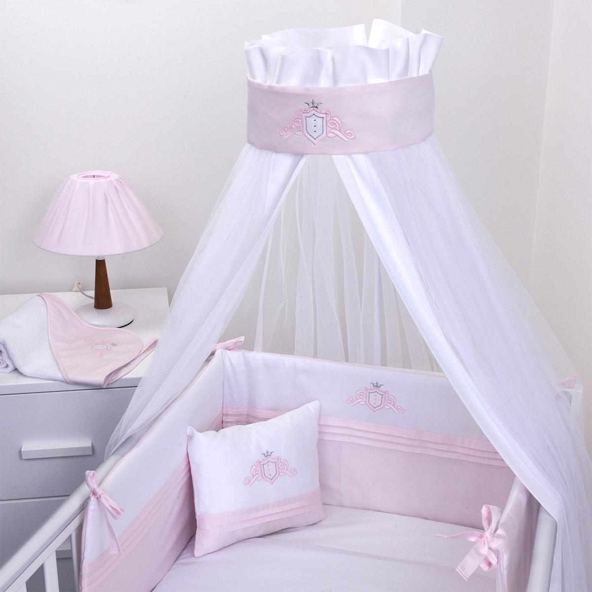 Κουνουπιέρα Κούνιας Baby Oliver Satin Pink 382