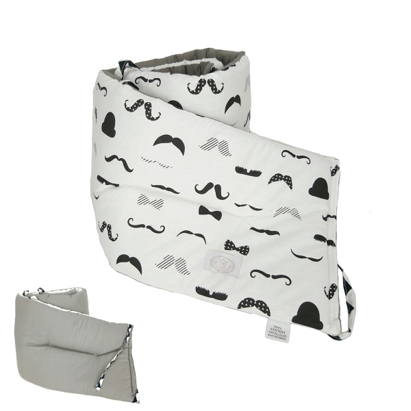 Προστατευτικό Για Κουπαστή Κούνιας Ninna Nanna Bebe Moustache