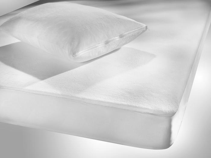 Κάλυμμα Στρώματος Μονό Αδιάβροχο Nima Micro Plus Με Φούστα 33502