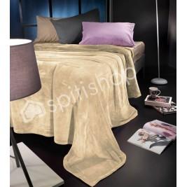 Κουβέρτα Fleece Υπέρδιπλη Nima Loafer Moonlight