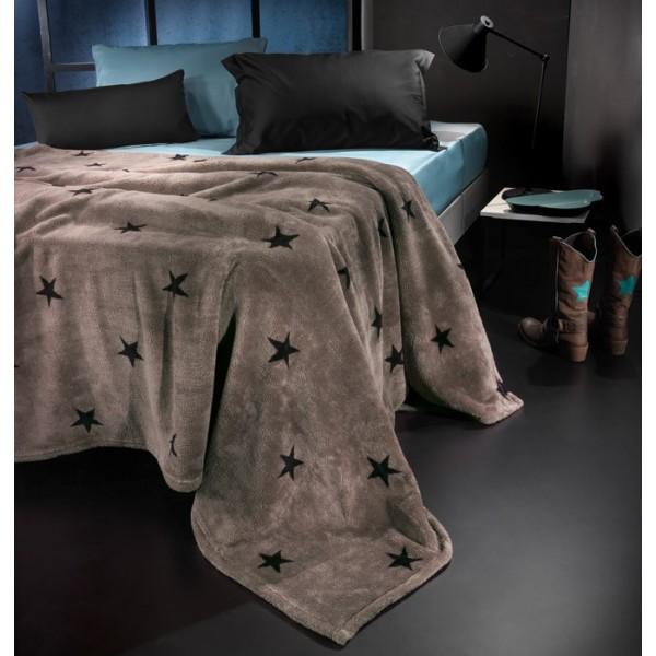 Κουβέρτα Fleece Υπέρδιπλη Nima Llama Estrella 03