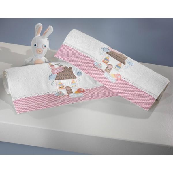 Παιδικές Πετσέτες Προσώπου (Σετ 2τμχ) Nima Favola Abra Katabra
