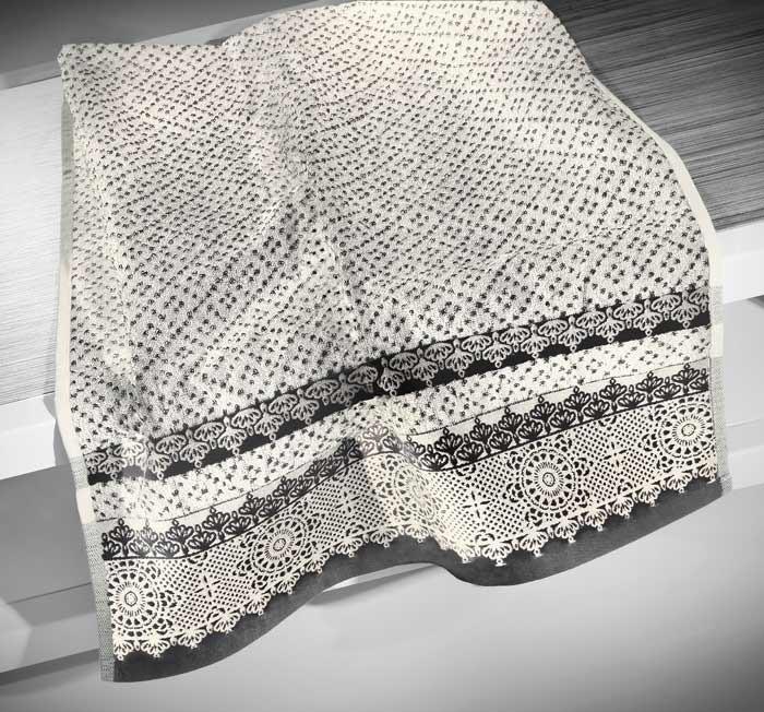 Πετσέτες Μπάνιου (Σετ 2τμχ) Nima Le Bain Giovanni Black