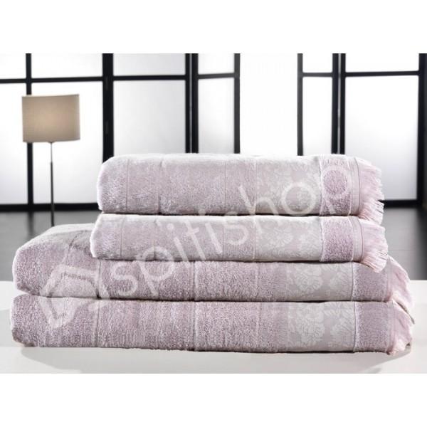 Πετσέτες Μπάνιου (Σετ 2τμχ) Nima Le Bain Veronique Lilac