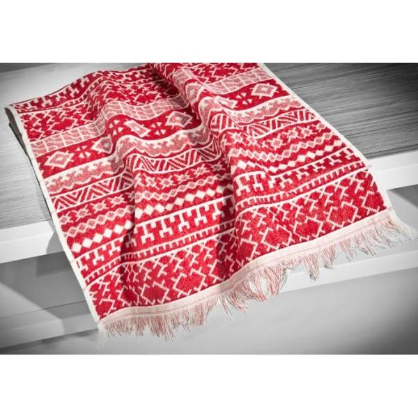 Πετσέτα Προσώπου (50x90) Nima Le Bain Rombinia Red