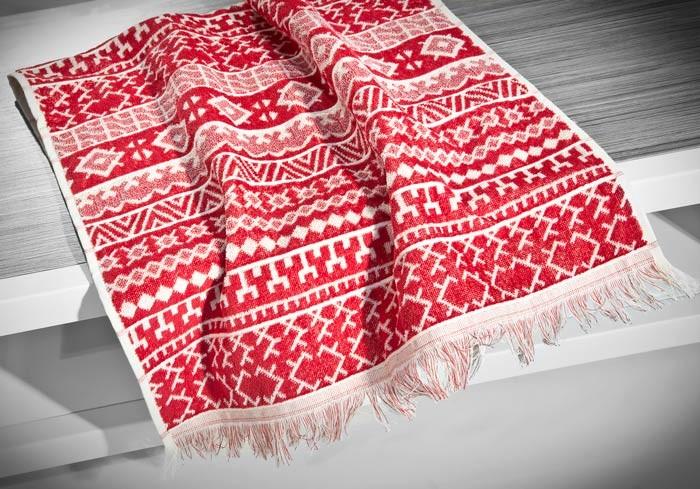 Πετσέτα Προσώπου (50×90) Nima Le Bain Rombinia Red
