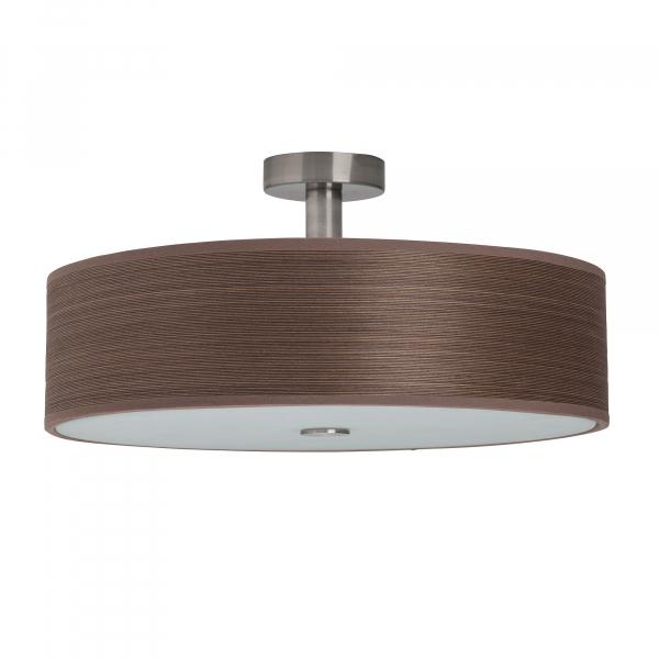 Φωτιστικό Οροφής Πολύφωτο Brilliant Gentle 93509/20 Satin Nickel