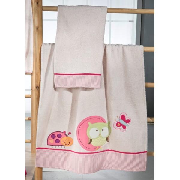 Βρεφικές Πετσέτες (Σετ 2τμχ) Nima Mama-Dada Soso