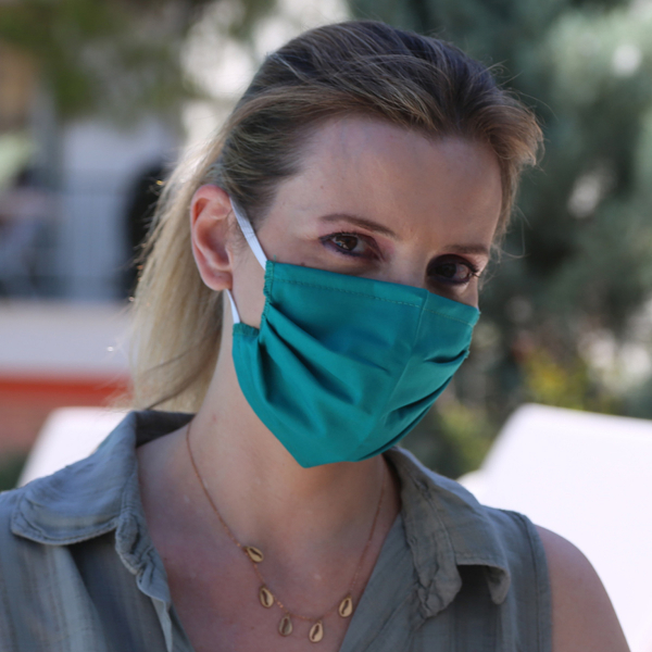 Μάσκα Προστασίας Υφασμάτινη San Lorentzo Oxford SL05