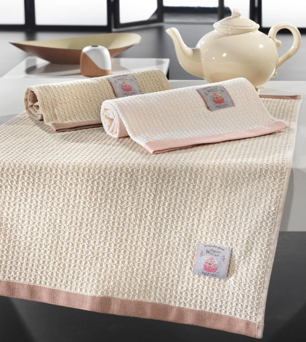 Πετσέτες Κουζίνας (Σετ 3τμχ) Nima Assorbire Trebbiano 01