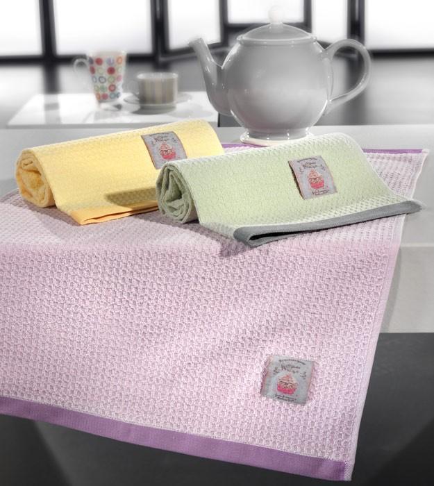 Πετσέτες Κουζίνας (Σετ 3τμχ) Nima Assorbire Trebbiano 02