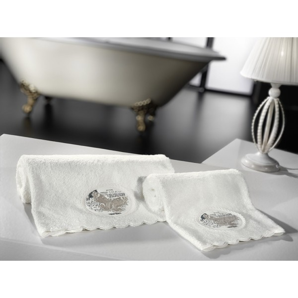 Πετσέτες Μπάνιου (Σετ 2τμχ) Nima Liaisons Veronesse