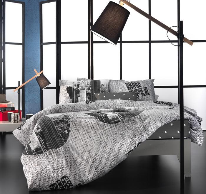 Παπλωματοθήκη Μονή (Σετ) Nima Cotton 'N Style Big Apple 01