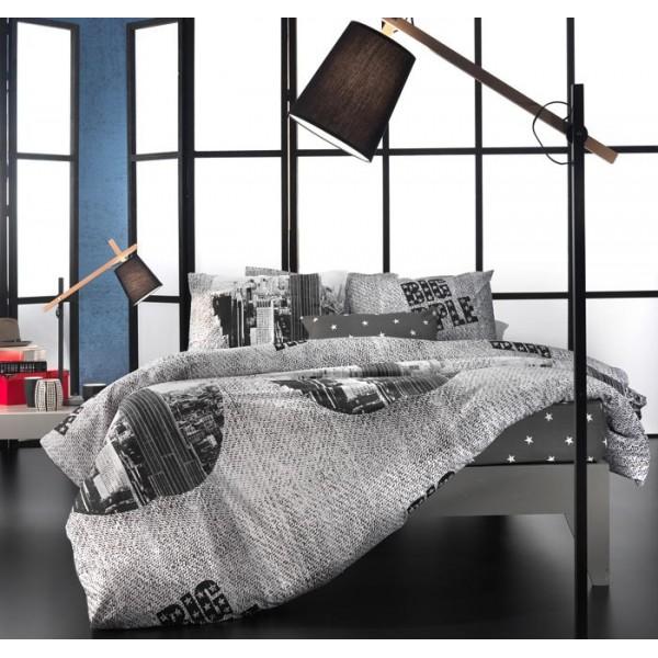 Παπλωματοθήκη Υπέρδιπλη (Σετ) Nima Cotton 'N Style Big Apple 01