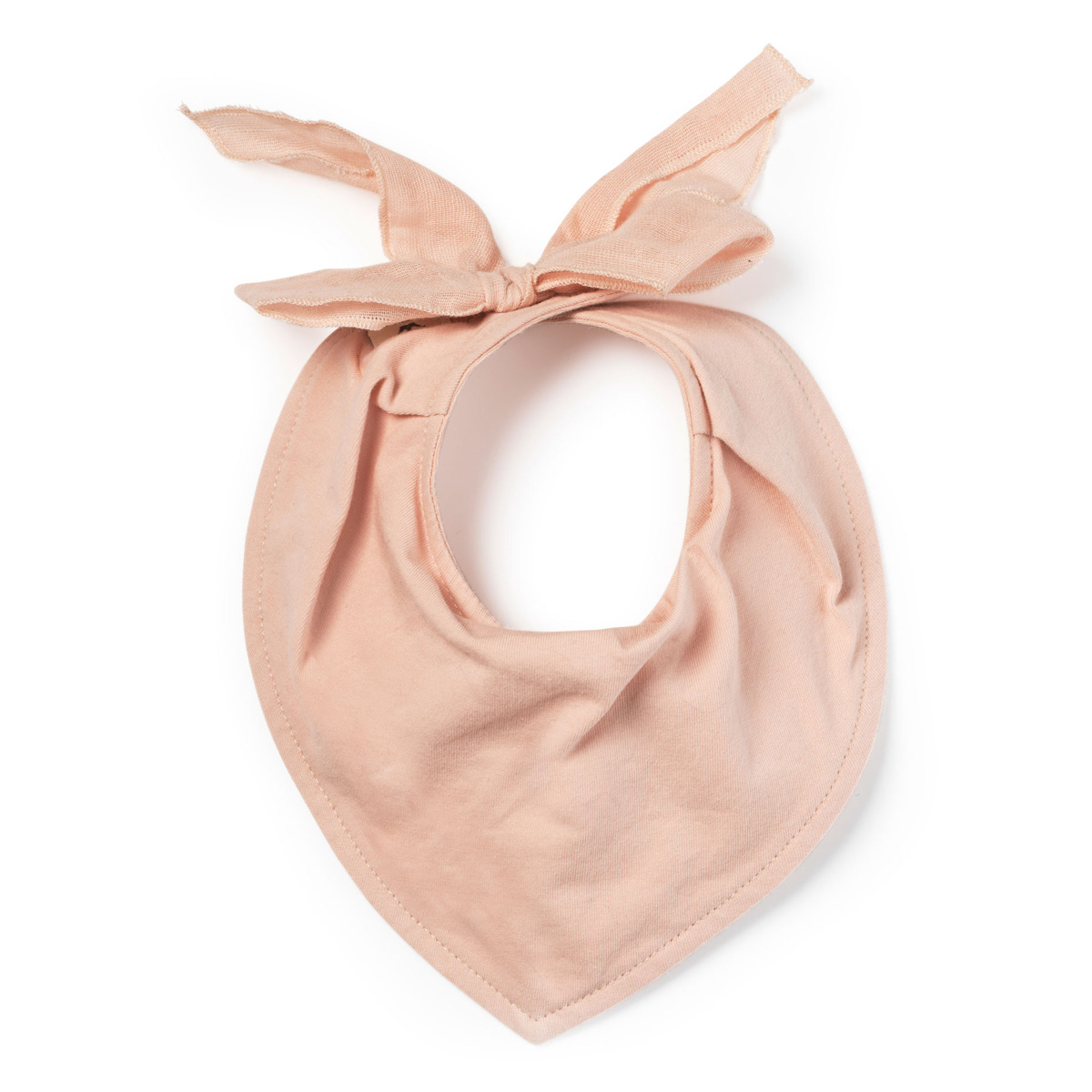 Σαλιάρα-Μπαντάνα Elodie Powder Pink BR74940