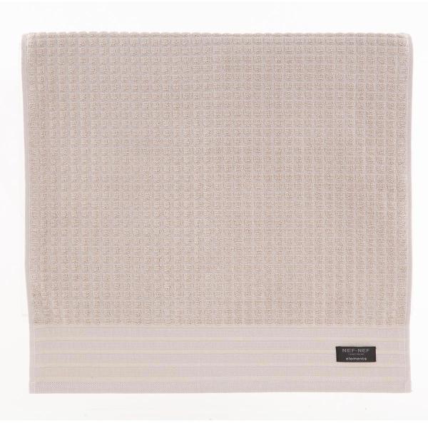 Πετσέτα Προσώπου (50x100) Nef-Nef Elements Quentin Beige
