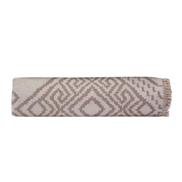 Διακοσμητικό Ριχτάρι 2 Όψεων (130x170) Nef-Nef Semedo Beige/Ecru