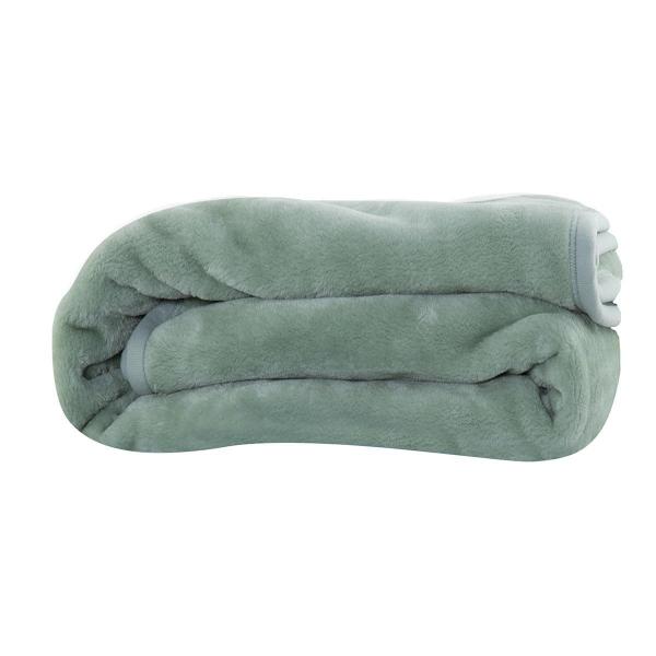 Κουβέρτα Βελουτέ Μονή Nef-Nef Loft 1143 Green