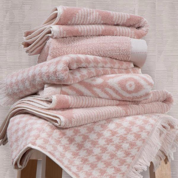 Πετσέτα Προσώπου (50x90) Nef-Nef Mansion PInk