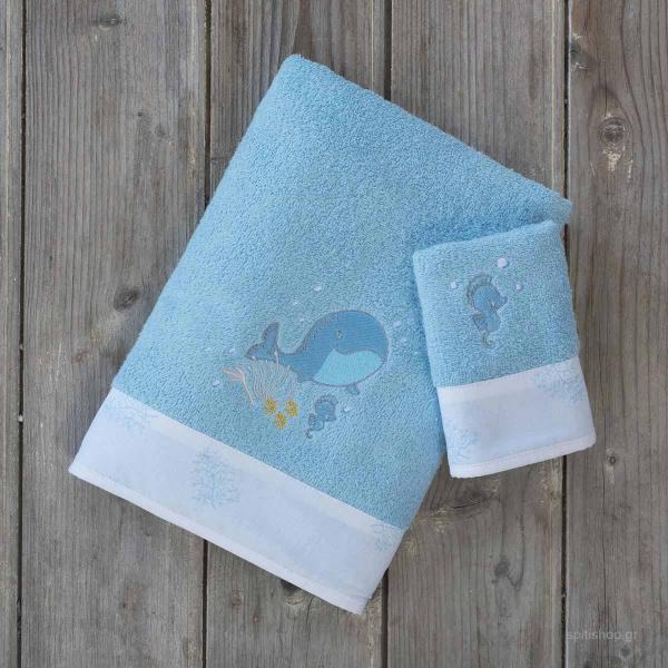Βρεφικές Πετσέτες (Σετ 2τμχ) Nima Baby Baleen