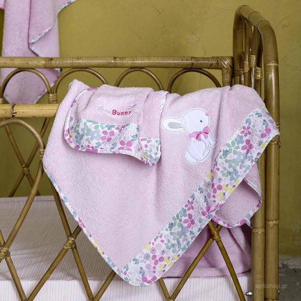 Βρεφικές Πετσέτες (Σετ 2τμχ) Nima Baby Some Bunny
