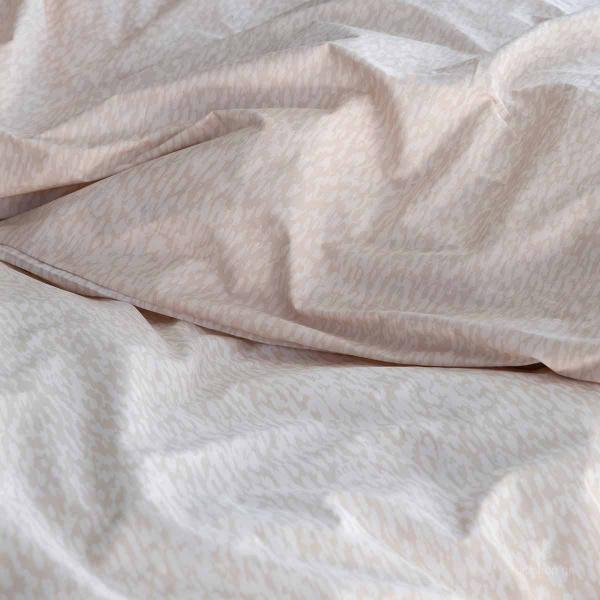 Σεντόνια Υπέρδιπλα (Σετ) Nima Bed Linen Indefinite Beige