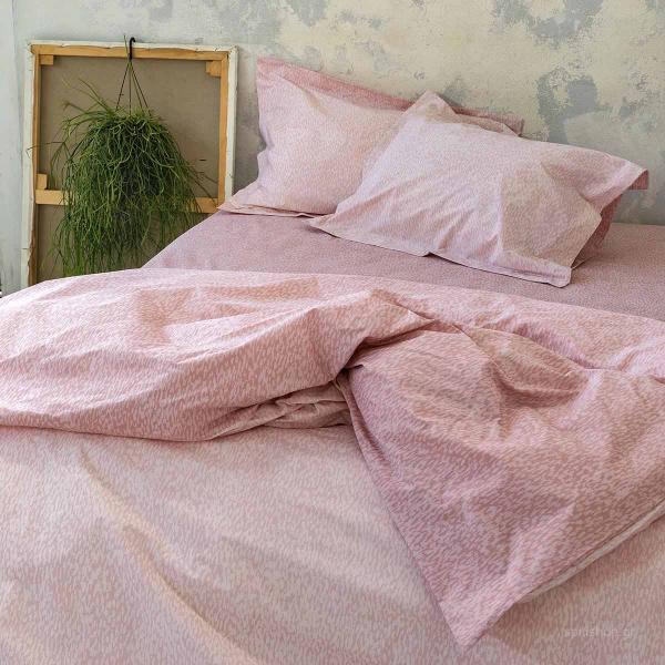 Σεντόνια Υπέρδιπλα (Σετ) Nima Bed Linen Indefinite Nude